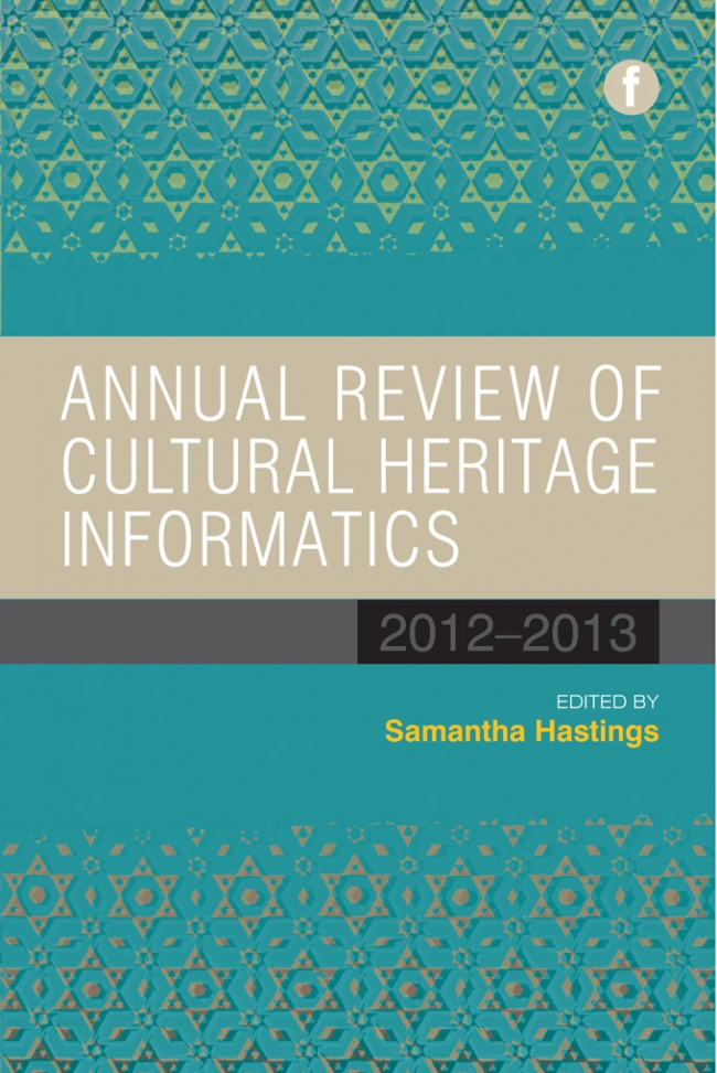 Jacket Image For: Annual Review of Cultural Heritage Informatics