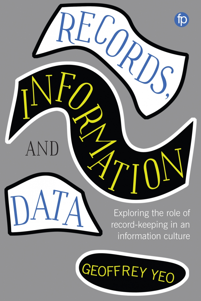 Jacket Image For: Records, Information and Data