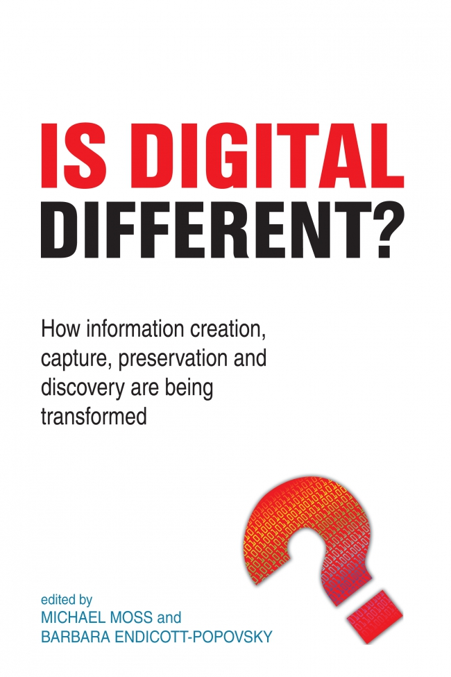 Jacket Image For: Is Digital Different?