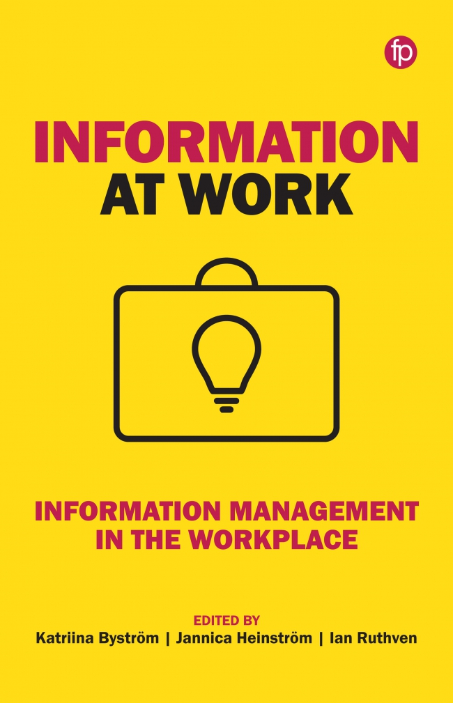 Jacket Image For: Information at Work
