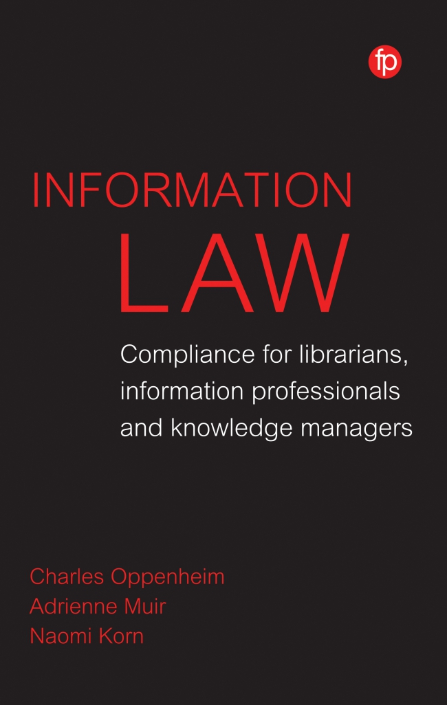 Jacket Image For: Information Law