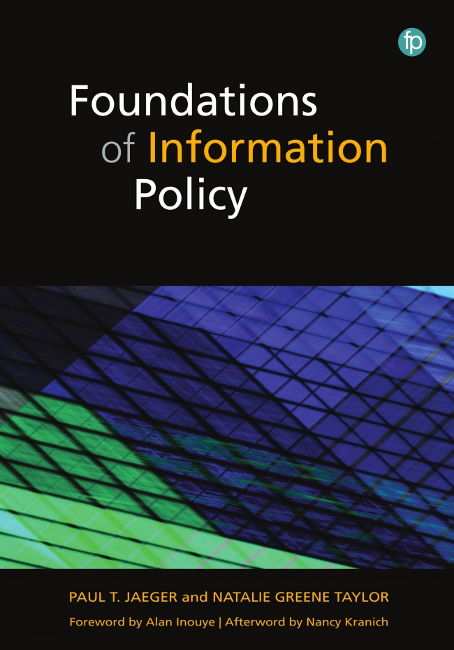 Jacket Image For: Foundations of Information Policy