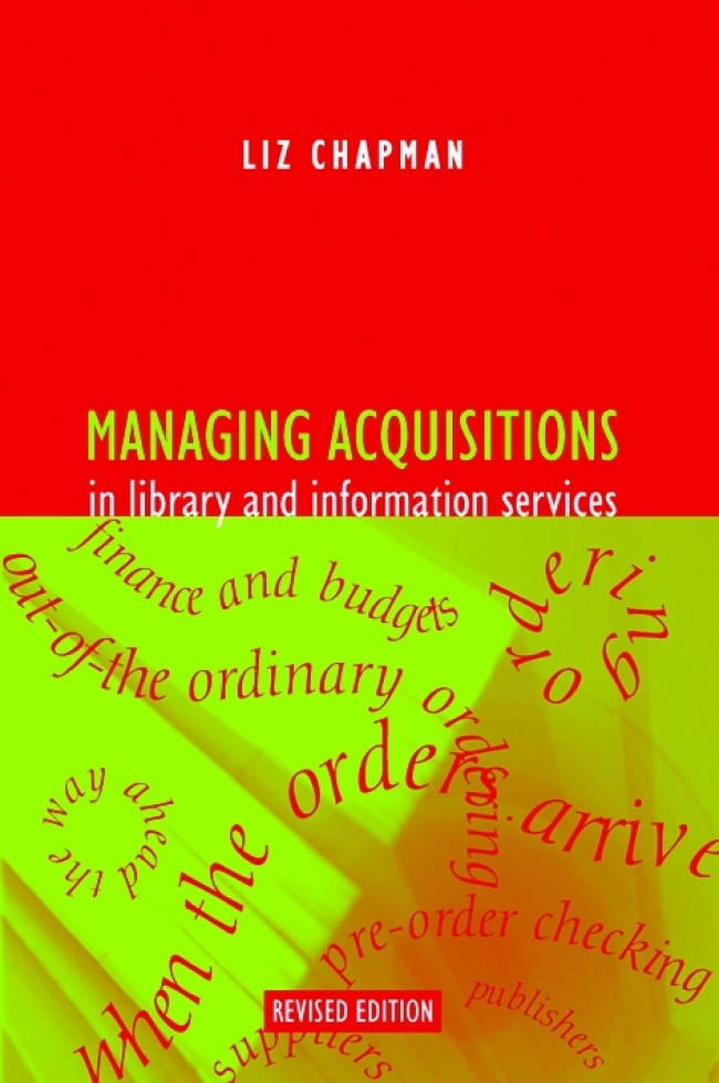 Jacket Image For: Managing Acquisitions in Library and Information Services