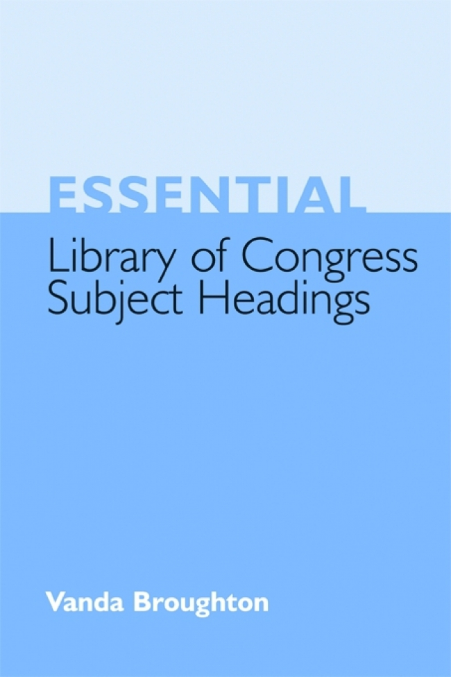 Jacket Image For: Essential Library of Congress Subject Headings