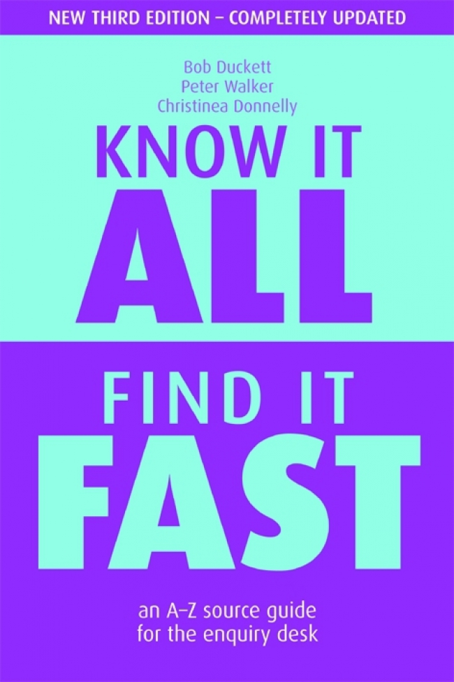 Jacket Image For: Know it All, Find it Fast