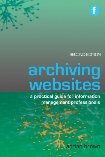 Jacket image for Archiving Websites