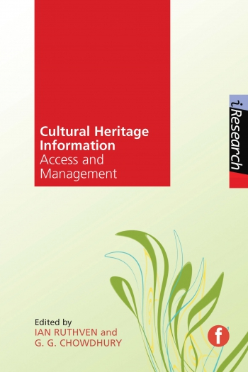 Jacket image for Cultural Heritage Information
