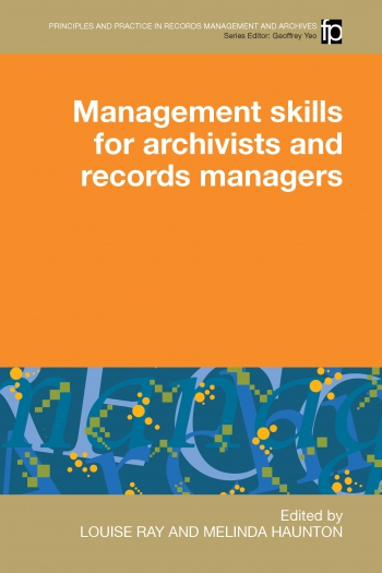 Jacket image for Management Skills for Archivists and Records Managers