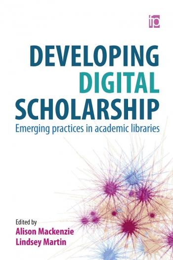 Jacket image for Developing Digital Scholarship