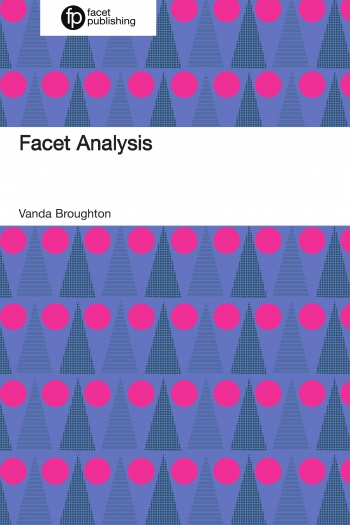 Jacket image for Facet Analysis