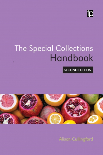Jacket image for The Special Collections Handbook