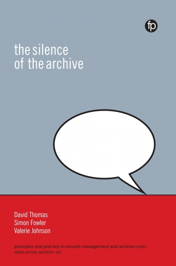 Jacket image for The Silence of the Archive