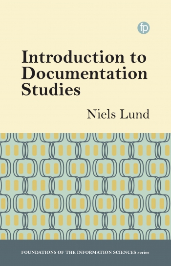 Jacket image for Introduction to Documentation Studies