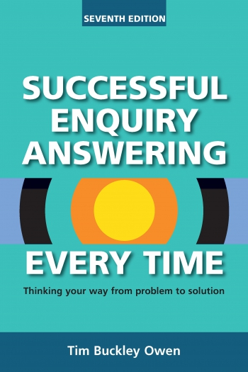 Jacket image for Successful Enquiry Answering Every Time