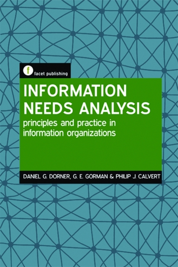 Jacket image for Information Needs Analysis