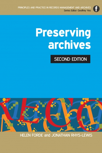 Jacket image for Preserving Archives