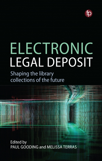 Jacket image for Electronic Legal Deposit