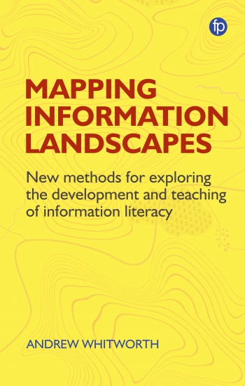 Jacket image for Mapping Information Landscapes
