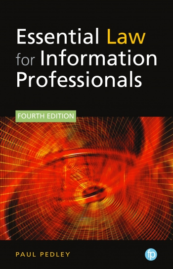 Jacket image for Essential Law for Information Professionals