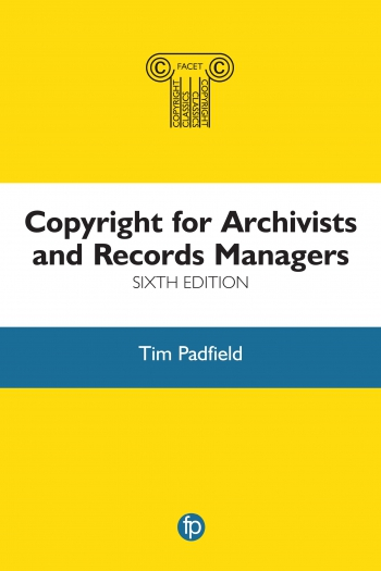 Jacket image for Copyright for Archivists and Records Managers