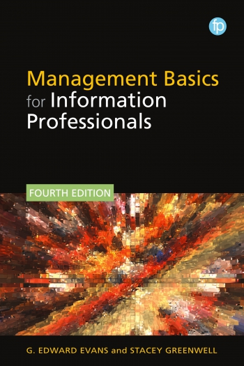 Jacket image for Management Basics for Information Professionals