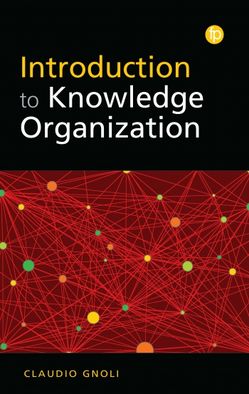 Jacket image for Introduction to Knowledge Organization