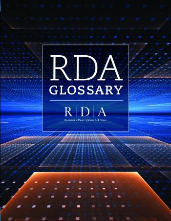Jacket image for RDA Glossary