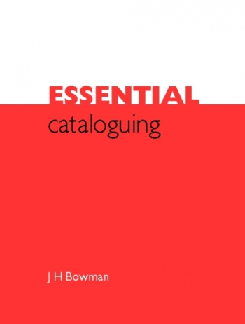 Jacket image for Essential Cataloguing