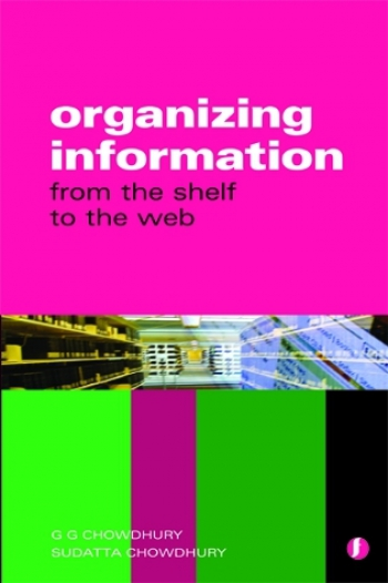 Jacket image for Organizing Information