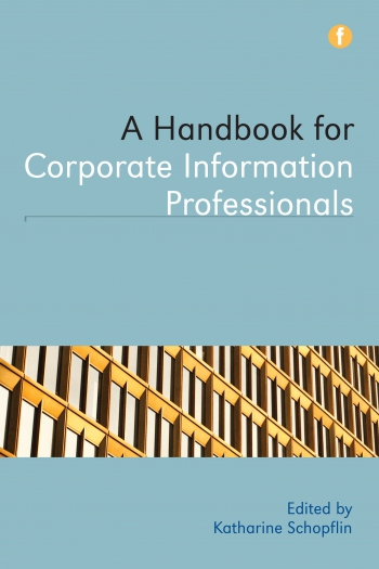 Jacket image for A Handbook for Corporate Information Professionals
