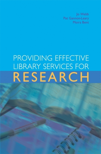 Jacket image for Providing Effective Library Services for Research